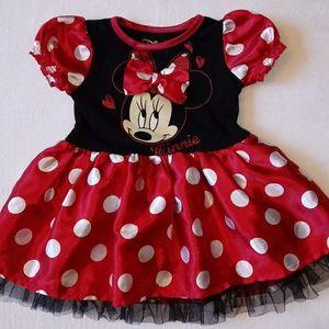 Disney Minnie Mouse Toddler Ruffle Dress
